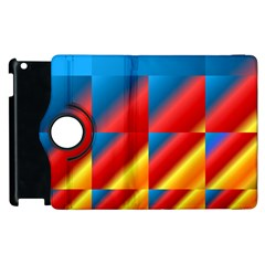 Gradient Map Filter Pack Table Apple Ipad 3/4 Flip 360 Case by Simbadda