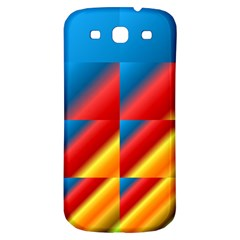 Gradient Map Filter Pack Table Samsung Galaxy S3 S Iii Classic Hardshell Back Case by Simbadda