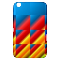 Gradient Map Filter Pack Table Samsung Galaxy Tab 3 (8 ) T3100 Hardshell Case  by Simbadda