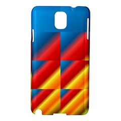 Gradient Map Filter Pack Table Samsung Galaxy Note 3 N9005 Hardshell Case by Simbadda
