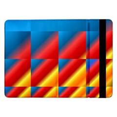 Gradient Map Filter Pack Table Samsung Galaxy Tab Pro 12 2  Flip Case by Simbadda