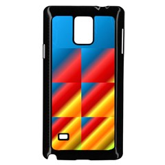 Gradient Map Filter Pack Table Samsung Galaxy Note 4 Case (black)