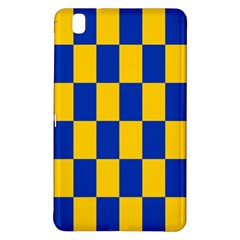 Flag Plaid Blue Yellow Samsung Galaxy Tab Pro 8 4 Hardshell Case by Alisyart