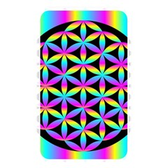 Flower Of Life Gradient Fill Black Circle Plain Memory Card Reader by Simbadda