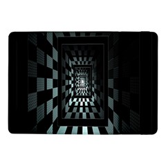 Optical Illusion Square Abstract Geometry Samsung Galaxy Tab Pro 10 1  Flip Case