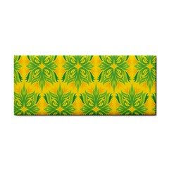 Floral Flower Star Sunflower Green Yellow Cosmetic Storage Cases by Alisyart