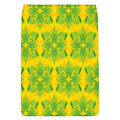 Floral Flower Star Sunflower Green Yellow Flap Covers (l)  by Alisyart