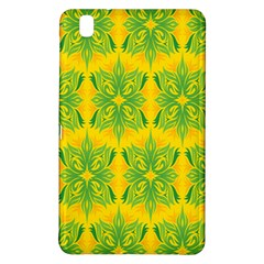 Floral Flower Star Sunflower Green Yellow Samsung Galaxy Tab Pro 8 4 Hardshell Case by Alisyart