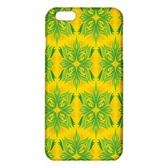Floral Flower Star Sunflower Green Yellow Iphone 6 Plus/6s Plus Tpu Case by Alisyart