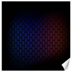 Hexagon Colorful Pattern Gradient Honeycombs Canvas 12  X 12