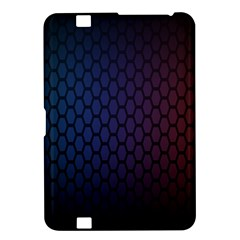 Hexagon Colorful Pattern Gradient Honeycombs Kindle Fire Hd 8 9  by Simbadda