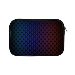 Hexagon Colorful Pattern Gradient Honeycombs Apple iPad Mini Zipper Cases by Simbadda