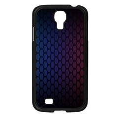 Hexagon Colorful Pattern Gradient Honeycombs Samsung Galaxy S4 I9500/ I9505 Case (black) by Simbadda