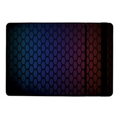 Hexagon Colorful Pattern Gradient Honeycombs Samsung Galaxy Tab Pro 10 1  Flip Case