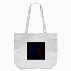 Hexagon Colorful Pattern Gradient Honeycombs Tote Bag (white) by Simbadda
