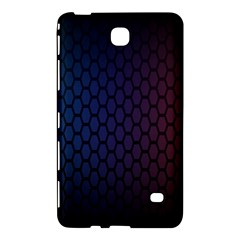 Hexagon Colorful Pattern Gradient Honeycombs Samsung Galaxy Tab 4 (8 ) Hardshell Case