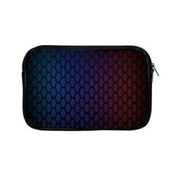 Hexagon Colorful Pattern Gradient Honeycombs Apple Macbook Pro 13  Zipper Case by Simbadda