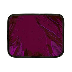 Abstract Purple Pattern Netbook Case (small)  by Simbadda