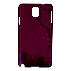 Abstract Purple Pattern Samsung Galaxy Note 3 N9005 Hardshell Case by Simbadda