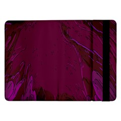 Abstract Purple Pattern Samsung Galaxy Tab Pro 12 2  Flip Case by Simbadda