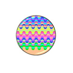 Dna Early Childhood Wave Chevron Woves Rainbow Hat Clip Ball Marker by Alisyart