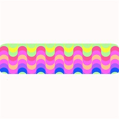 Dna Early Childhood Wave Chevron Woves Rainbow Large Bar Mats by Alisyart