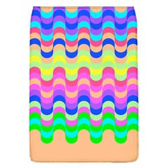 Dna Early Childhood Wave Chevron Woves Rainbow Flap Covers (l)  by Alisyart