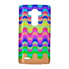Dna Early Childhood Wave Chevron Woves Rainbow Lg G4 Hardshell Case by Alisyart