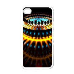 Abstract Led Lights Apple Iphone 4 Case (white)