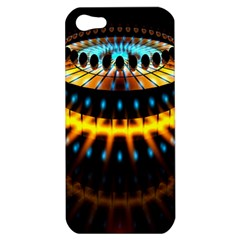 Abstract Led Lights Apple Iphone 5 Hardshell Case by Simbadda