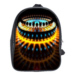 Abstract Led Lights School Bags (xl)