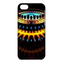 Abstract Led Lights Apple Iphone 5c Hardshell Case by Simbadda