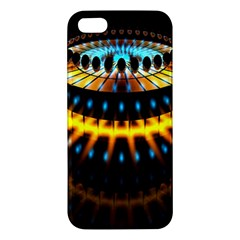 Abstract Led Lights Iphone 5s/ Se Premium Hardshell Case by Simbadda