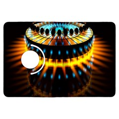 Abstract Led Lights Kindle Fire Hdx Flip 360 Case by Simbadda