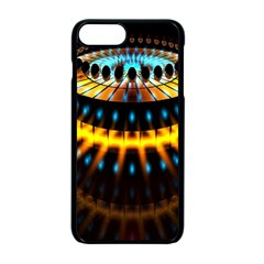 Abstract Led Lights Apple Iphone 7 Plus Seamless Case (black)