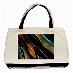 Abstract 3d Basic Tote Bag (two Sides) by Simbadda