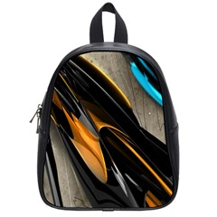 Abstract 3d School Bags (small)  by Simbadda