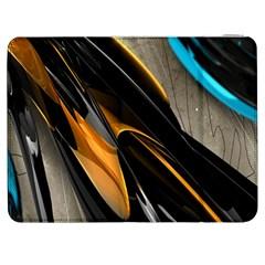 Abstract 3d Samsung Galaxy Tab 7  P1000 Flip Case by Simbadda