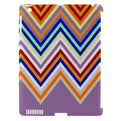 Chevron Wave Color Rainbow Triangle Waves Grey Apple Ipad 3/4 Hardshell Case (compatible With Smart Cover) by Alisyart