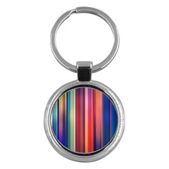 Texture Lines Vertical Lines Key Chains (round)  by Simbadda
