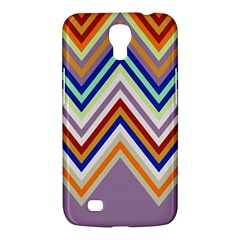 Chevron Wave Color Rainbow Triangle Waves Grey Samsung Galaxy Mega 6 3  I9200 Hardshell Case by Alisyart