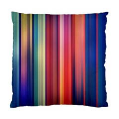 Texture Lines Vertical Lines Standard Cushion Case (one Side)