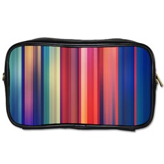 Texture Lines Vertical Lines Toiletries Bags 2 Side by Simbadda
