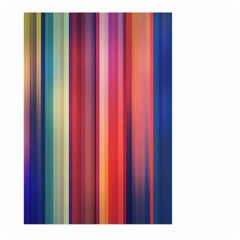 Texture Lines Vertical Lines Large Garden Flag (two Sides) by Simbadda