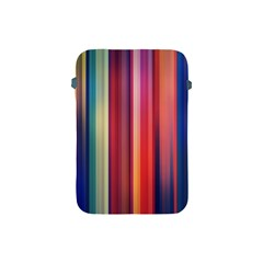 Texture Lines Vertical Lines Apple Ipad Mini Protective Soft Cases by Simbadda