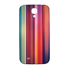 Texture Lines Vertical Lines Samsung Galaxy S4 I9500/i9505  Hardshell Back Case by Simbadda