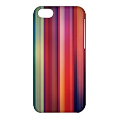 Texture Lines Vertical Lines Apple Iphone 5c Hardshell Case by Simbadda