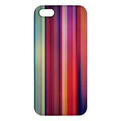 Texture Lines Vertical Lines Iphone 5s/ Se Premium Hardshell Case by Simbadda