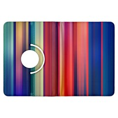 Texture Lines Vertical Lines Kindle Fire Hdx Flip 360 Case by Simbadda