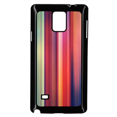 Texture Lines Vertical Lines Samsung Galaxy Note 4 Case (black) by Simbadda